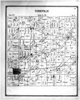 Yorkville Township, Union Grove, Sylvania, Racine and Kenosha Counties 1899